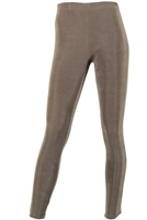 Slim pants - taupe - acetate/spandex
