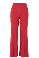 Palazzo pants - red - polyester