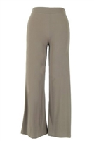 Palazzo pants - taupe - polyester