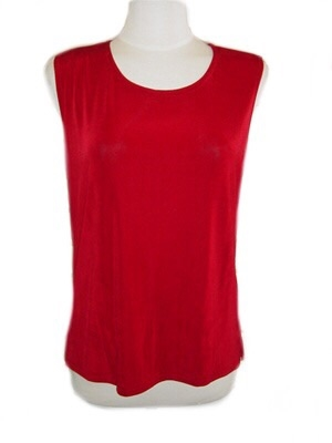 Tank top - cranberry - acetate/spandex