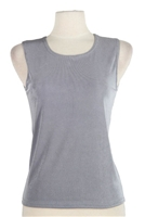 Tank top - grey - polyester/spandex