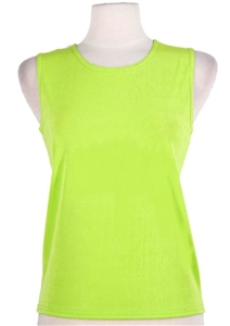 Tank top - lime  - polyester/spandex