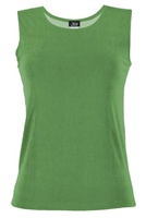Tank top - olive - polyester/spandex