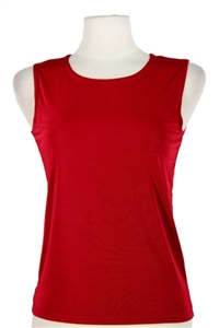 Tank top - red - polyester/spandex