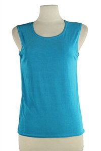 Tank top - turquoise - polyester/spandex