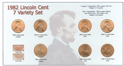 1982 cent collection