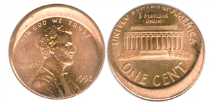 dated off center lincoln cent