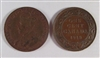 canadian george v large cents