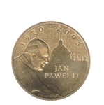 pope john paul ii memorial coin