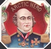 john franklin arctic hero cigar label