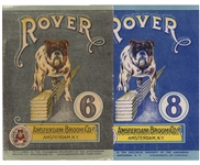 rover broom label