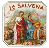 la salvena cigar box label