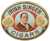 irish singer cigar box label