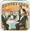 sunset club cigar box label