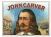 john carver cigar box label
