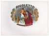 rigoletto cigar box label