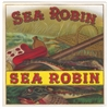 sea robin cigar box label