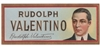 rudolph valentino cigar label