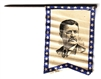 theodore roosevelt flag stick pin
