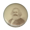 carl marx button