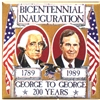 George Washington and George Bush Button