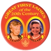 Great First Ladies Button