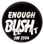 2004 Anti-Bush Button