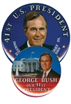 george bush campaign buttons