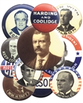 century of presidential buttons