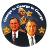 Campaign Button: George to George to George