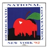 New York D.N.C. Button – 1992