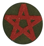 japanese wwii army marksman sniper patch