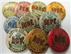 labor union buttons 1930