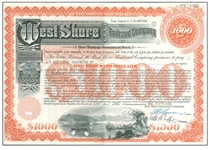 west shore railroad bond