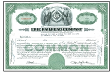 erie railroad stock