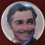 clark gable fan button