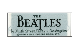 beatles clothing label