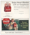 1930 coke card coupon