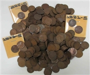Lot #09 Fantastic Hoard of Lincoln Cents