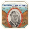 Frankling Delano Roosevelt Cigar Box Label