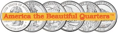 American the Beautiful Quarters