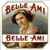 Belle Ami Outer Box Cigar Label