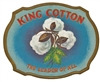 King Cotton Outer Box Cigar Label