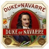 Duke of Navarre Outer Box Cigar Label