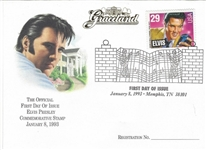 elvis presley stamp envelope