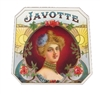 Javotte Outer Box Cigar Label