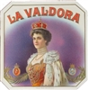 La Valdora Suprema Outer Cigar Label