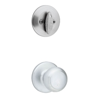 Kwikset - 604CV - Cove - Single Cylinder Door Knob Inside Trim