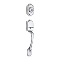 Kwikset - 687BW - Belleview - Single Cylinder Entry Handleset with SmartKey