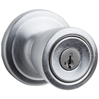Kwikset - 740A GC SMT - Abbey - Keyed Entry Knob with SmartKey